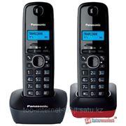Радиотелефон PANASONIC KX-TG1612CA3 (серый/красный) фото