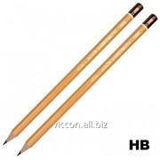 Карандаш чертежный hb, koh-i-nor KHHB1500 фото
