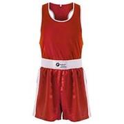 Форма боксерская детская Rusco BS-101 красный р.38 фото