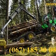 Аренда лесовоза манипулятора, перевозка леса фото