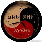 Изготовление часов с логотипом или символикой фото