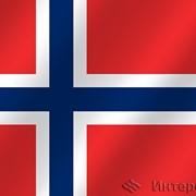 Флаг национальный Норвегия фото