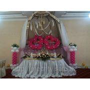 Оформление зала, воздушные шары, живые и искусственые цветы, НЕДОРОГО, в Алматы фото