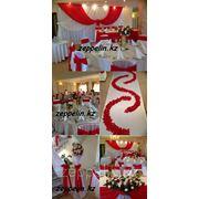 Оформление свадьбы в красном фото