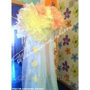 Декорированные стойки для украшения свадебного зала фото