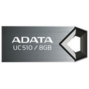 8Gb DashDrive Choice AUC510 Adata USB-флеш накопитель, USB 2.0, AUC510-8G-RTI, Серый фото