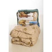 Одеяло 1,5сп. Верблюжья шерсть фото