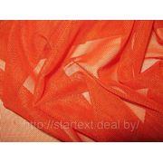 Сетка-стрейч — оранжевая фото