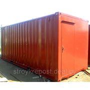 Бытовки (блок-контейнер) фото
