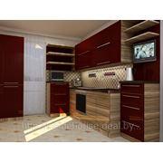 Дизайн интерьера кухни с 3D визуализацией фото