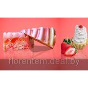 Мыло Клубничный тортик фото