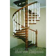 Готовые деревянные лестницы фото