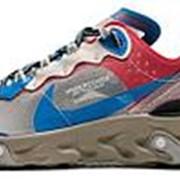 Кроссовки Nike React Element 87 Undercover 'Khaki Red' фото