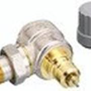 Радиаторный терморегулятор угловой, никелированный 15 Арт. 013G0011 фото