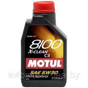 Motul 8100 X-clean 5W-30 1л фото