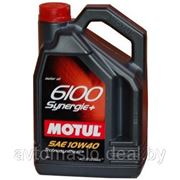 Motul 6100 Synergie+ 10W-40 4л фото