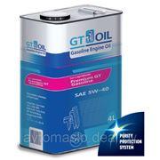 GT Oil Premium Gasoline 5W-40 4л фото