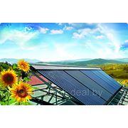 Солнечный коллектор фото
