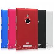 Силиконовый чехол для Nokia Lumia 925 (белый,чёрный) фото