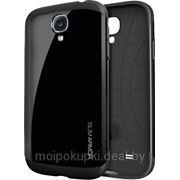 Чехол-накладка SGP Slim Armor для Samsung GT-I9500 Galaxy S IV чёрный фото