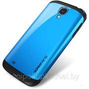 Чехол-накладка SGP Slim Armor для Samsung GT-I9500 Galaxy S IV синий фото