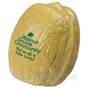 Орехи с логотипом, нанесение логотипов на орехи, шелкография фото