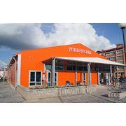 Модульное здание для организации розничной торговли (торговый павильон) фото