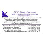 Коммерческое предложение на аудит достоверности отчетности за 2013 год фото