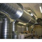 Монтаж вентиляционного оборудывания фото