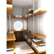 Гардеробные комнаты конструктивизм на заказ фото