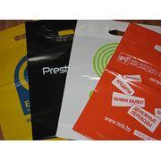 Печать на пакетах ПВД логотипов, рисунков и т.д. фото