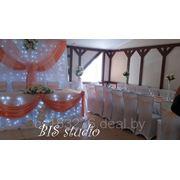 Оформление свадебных и банкетных залов фото