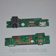 Шлейф (Flat cable) с коннектором зарядки, гарнитуры для Lenovo IdeaTab A2107 | A2207 фото