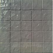 Формы для тротуарной плитки «Гранит колотый» глянцевые пластиковые АБС ABS фото
