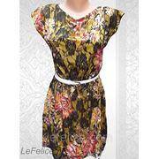 Платье гипюр цветное фото