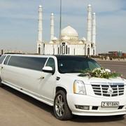 Прокат.аренда лимузинов марки Cadillac Escalade, Hummer H2 фото