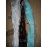Органза бел,кор,голуб,50м в кажд.1-комплект-3цв фото