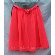 Женская ююка шифон+трикотаж 3 цвета ВШ фото
