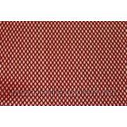 Ткань сетка стрейч красная фото