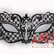 Ажурная маска Арлекинка - 2 фото