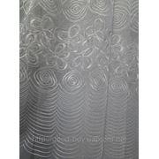 Тюль органза - Спираль фото