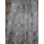 Тюль - органза - Улитка 0002-Л фото