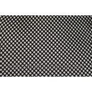 Ткань сетка стрейчевая черная фото