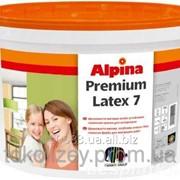 Alpina Premiumlatex 7 B1 Матовая, шелковистая стойкая латексная краска 10 л фото
