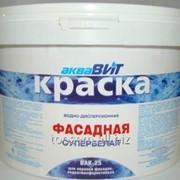 Краска ВАК-25 фасадная с/белая, 40 кг. фото