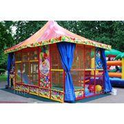 Детская игровая комната «непоседа» — стиль «цирк». фото