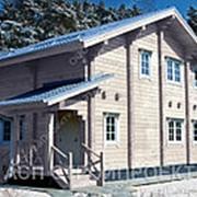 Дом с мансардой «Черный лис» фото
