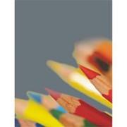 Тетрадь общая Attache,96л,клет,А5,скреп,обл.мел.карт,в асс фото