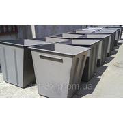 Мусорные контейнеры металлические фото