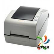 Принтер этикеток Bixolon SLP-TX400DE термотрансферный 203 dpi светлый, Ethernet, USB, RS-232, отделитель, кабель, 106020 фото